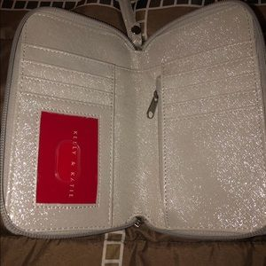 Silver wallet/phone carrier